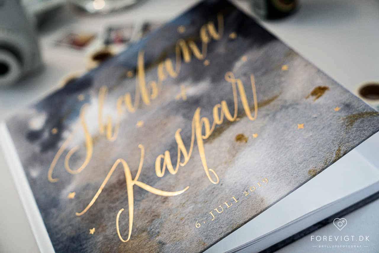 gæstebog bryllup
