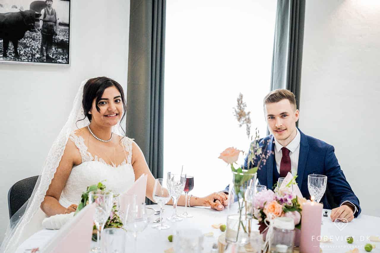 brudepar på Kallerupgaard