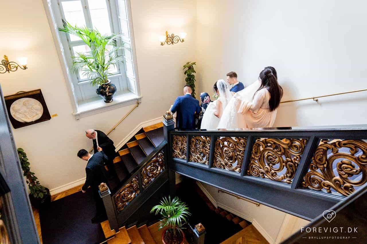 Borgerlig vielse på Kolding Rådhus | Bryllupsfotograf Jylland