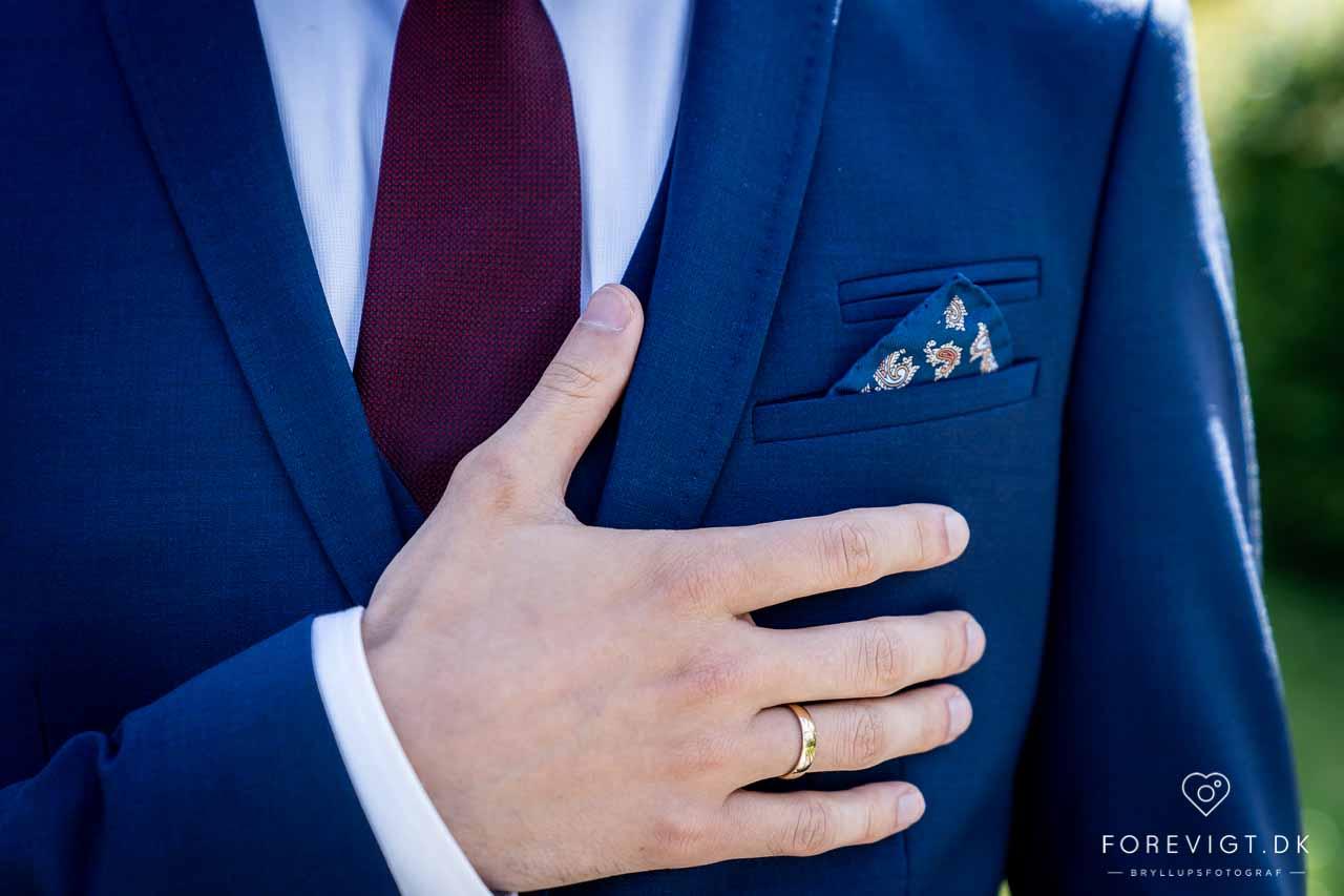 Gift ved surprise-bryllup på Koldinghus - Kolding