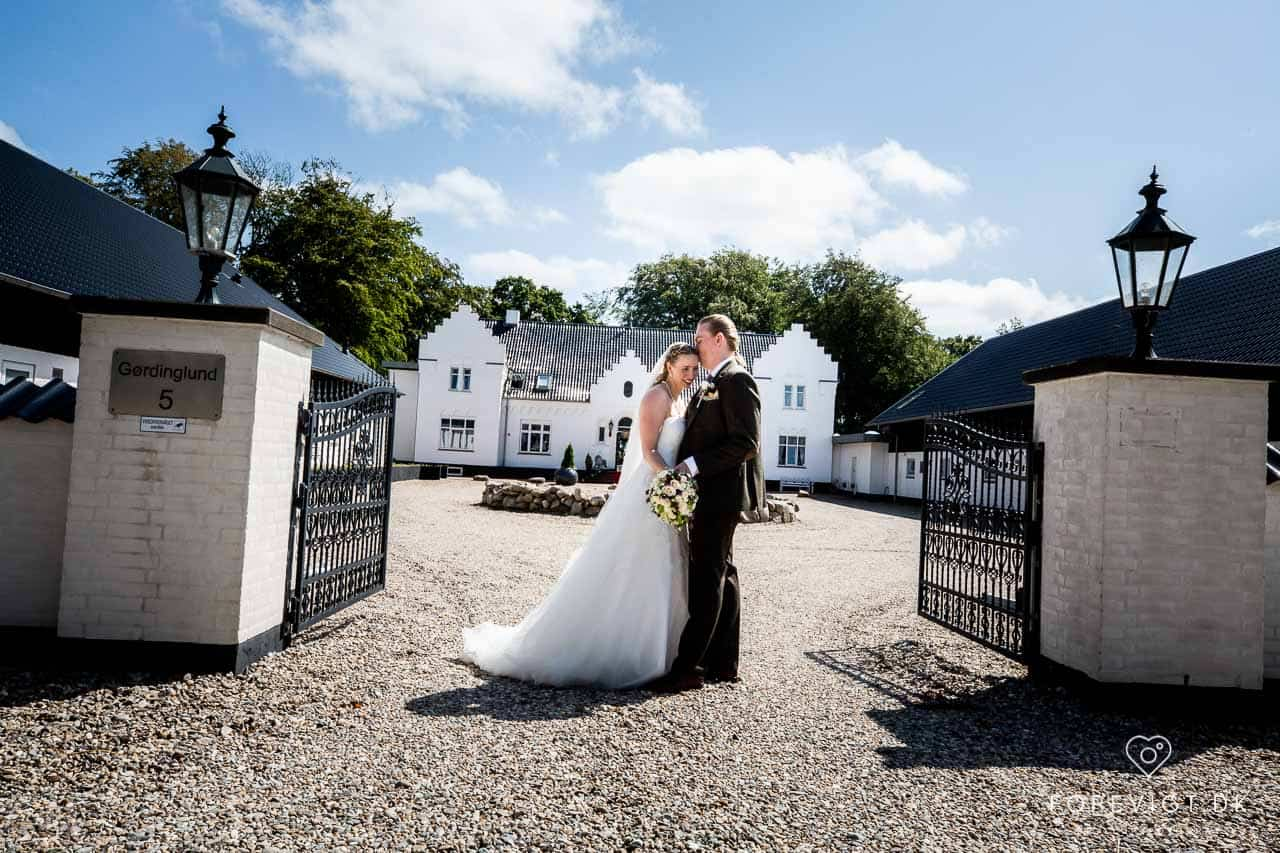 Bryllup på Gørdinglund