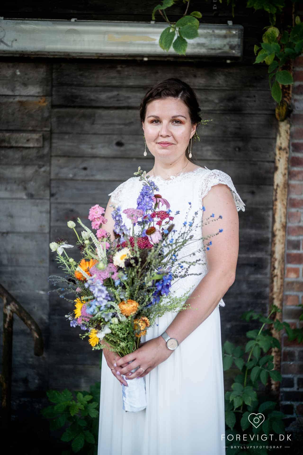 Bryllup i Kabelhallerne på Refshaleøen i København