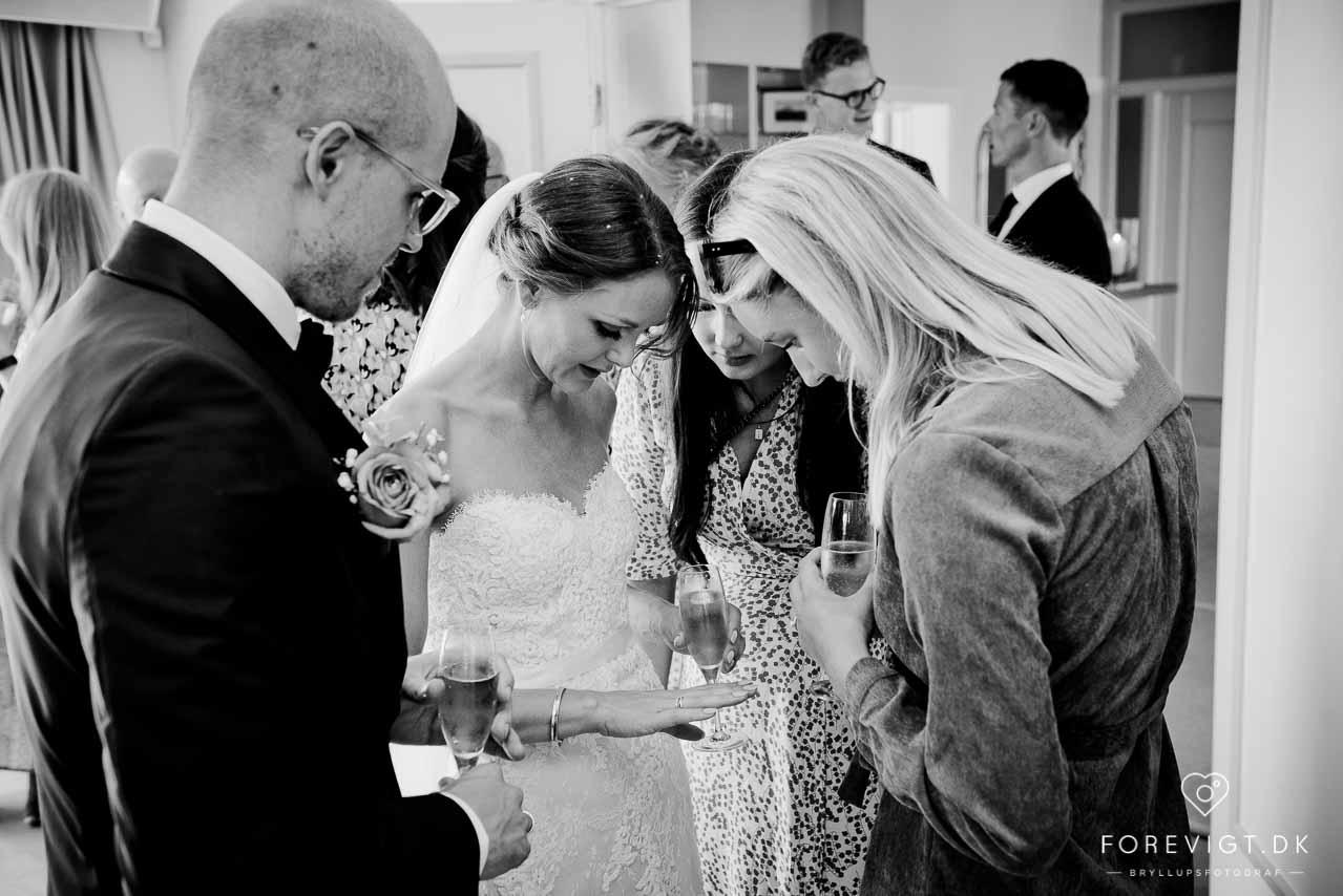 Strandhotel bryllup på Sjælland