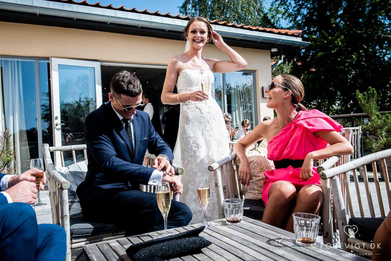 Bryllup på Sjælland | ved Stevns Klint og Østersøen