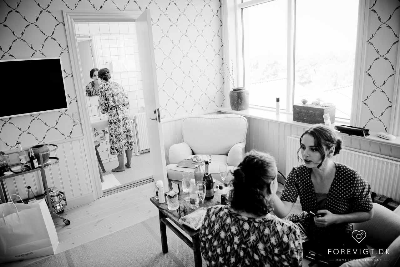 Hotel Hornbækhus bryllup - Bryllupsfotograf