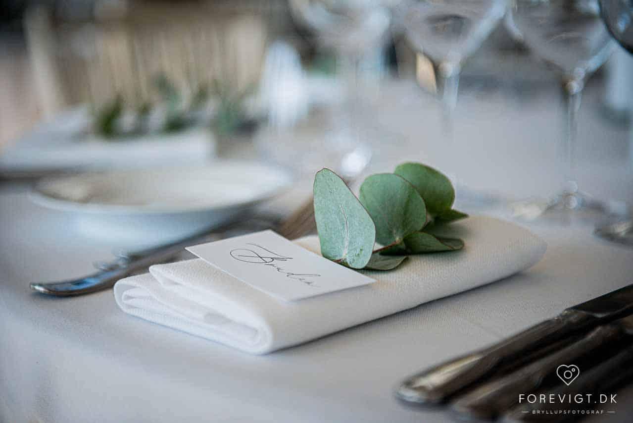Bryllup på Kokkedal Slot Copenhagen