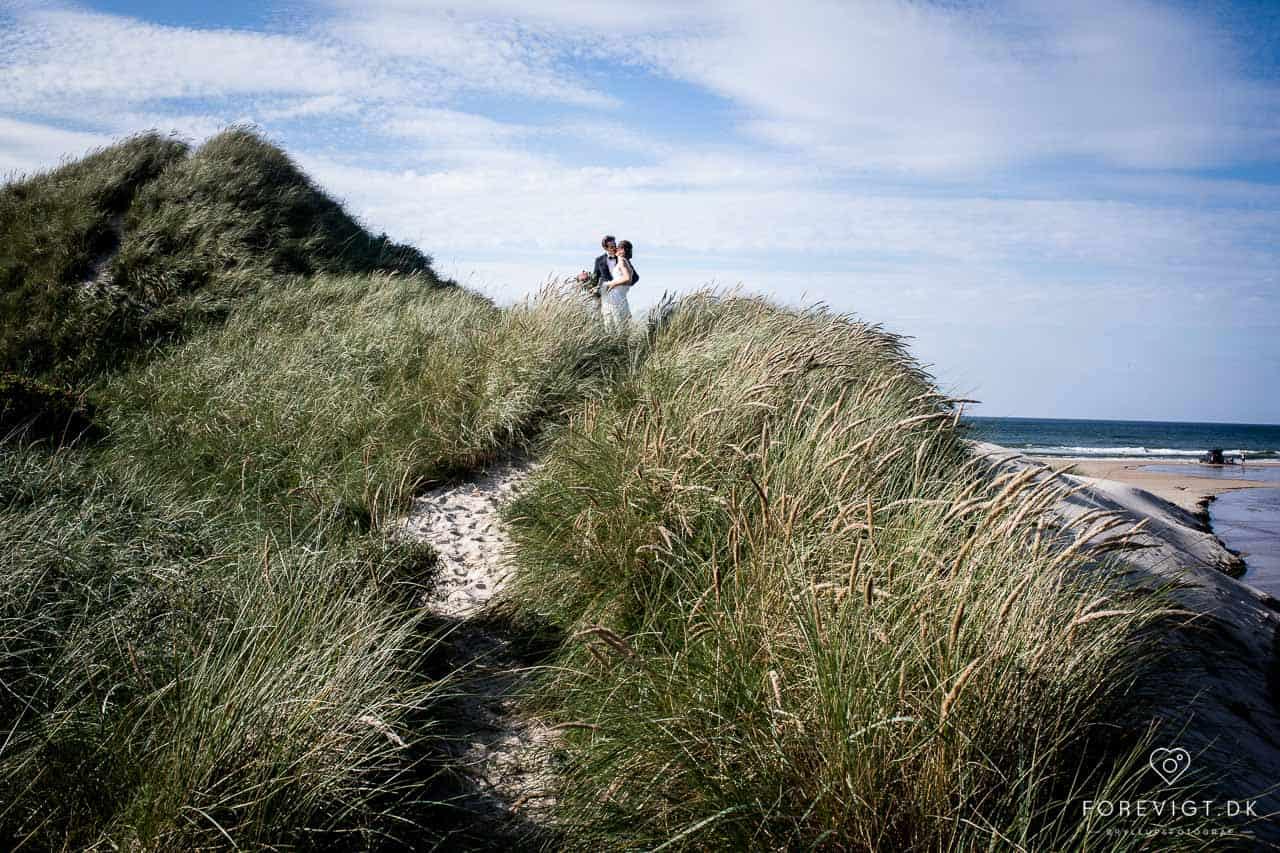 Strandhotellet blokkhus bryllup nordjylland