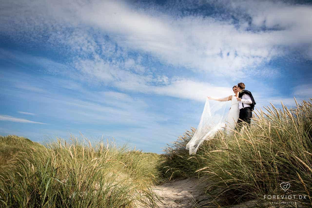bryllup ved vandet Nibe