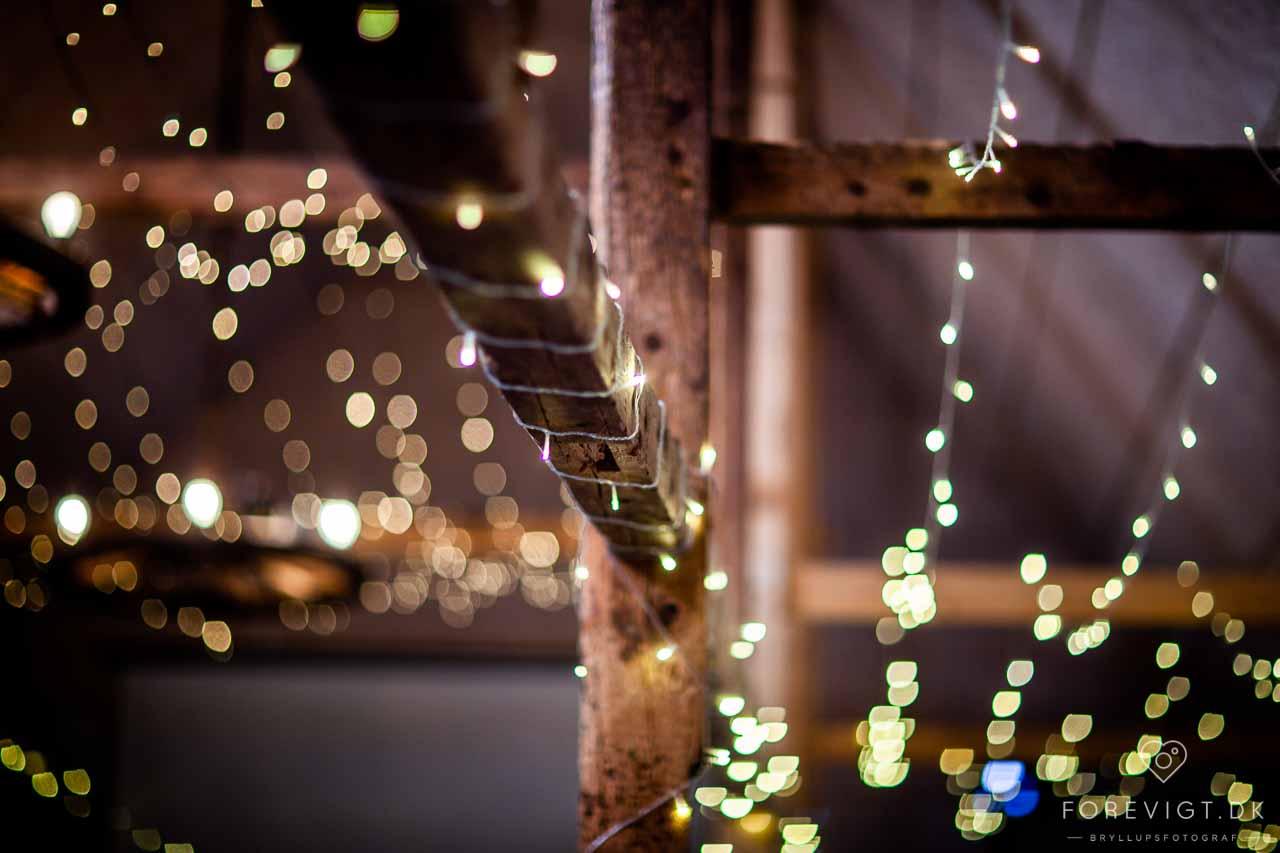Drømmer i om at arrangere og holde et Bryllup i lade