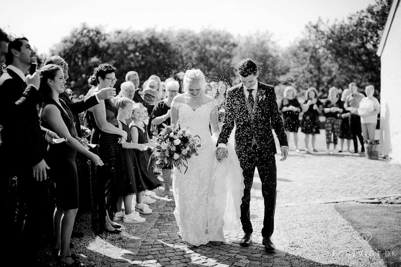 Romantisk Bryllup | Med og Uden kirke på Stevns Klint