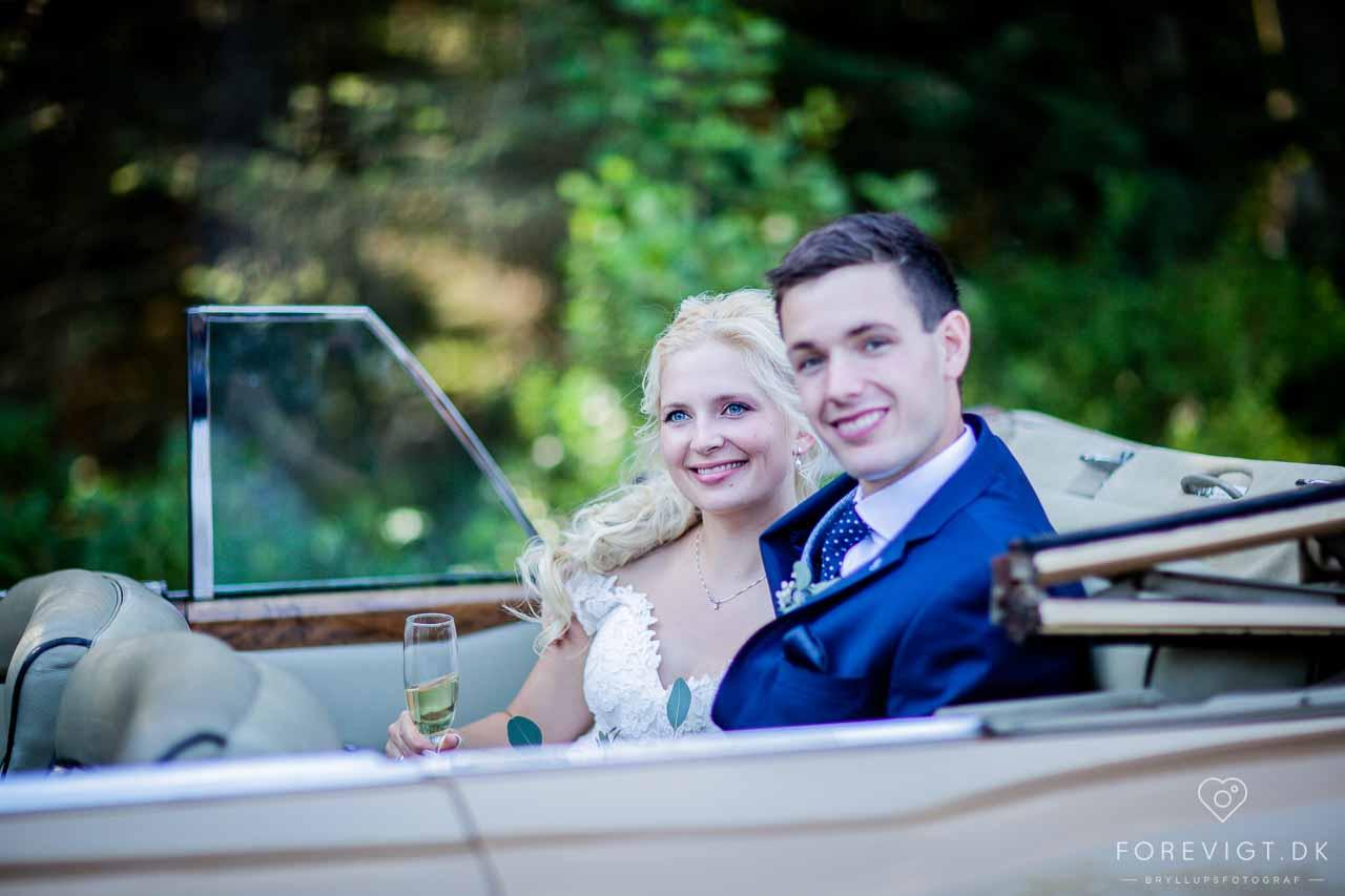 mange års erfaring som bryllupsfotograf i Vejle