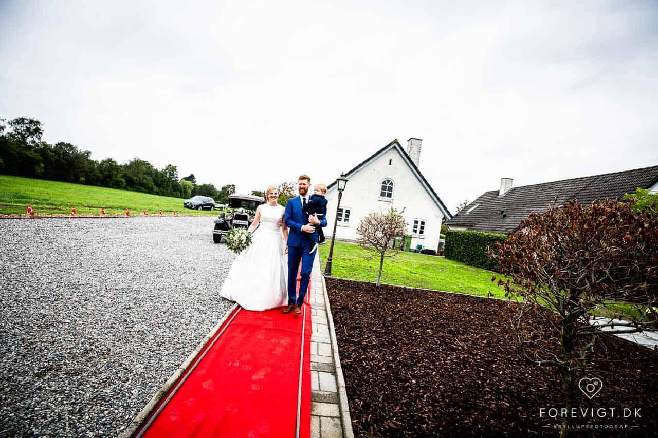 10 unikke steder, I kan holde bryllupsfesten