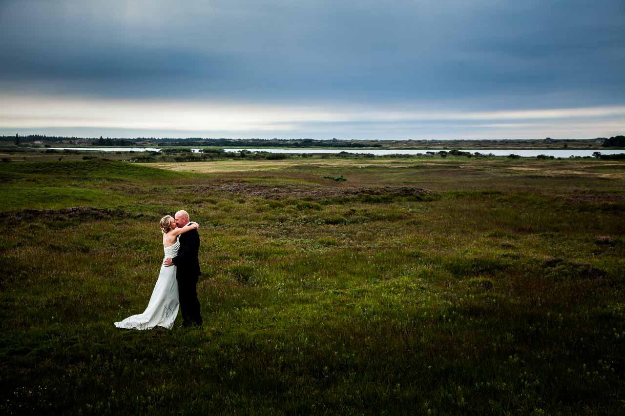Bruden og brudegommen