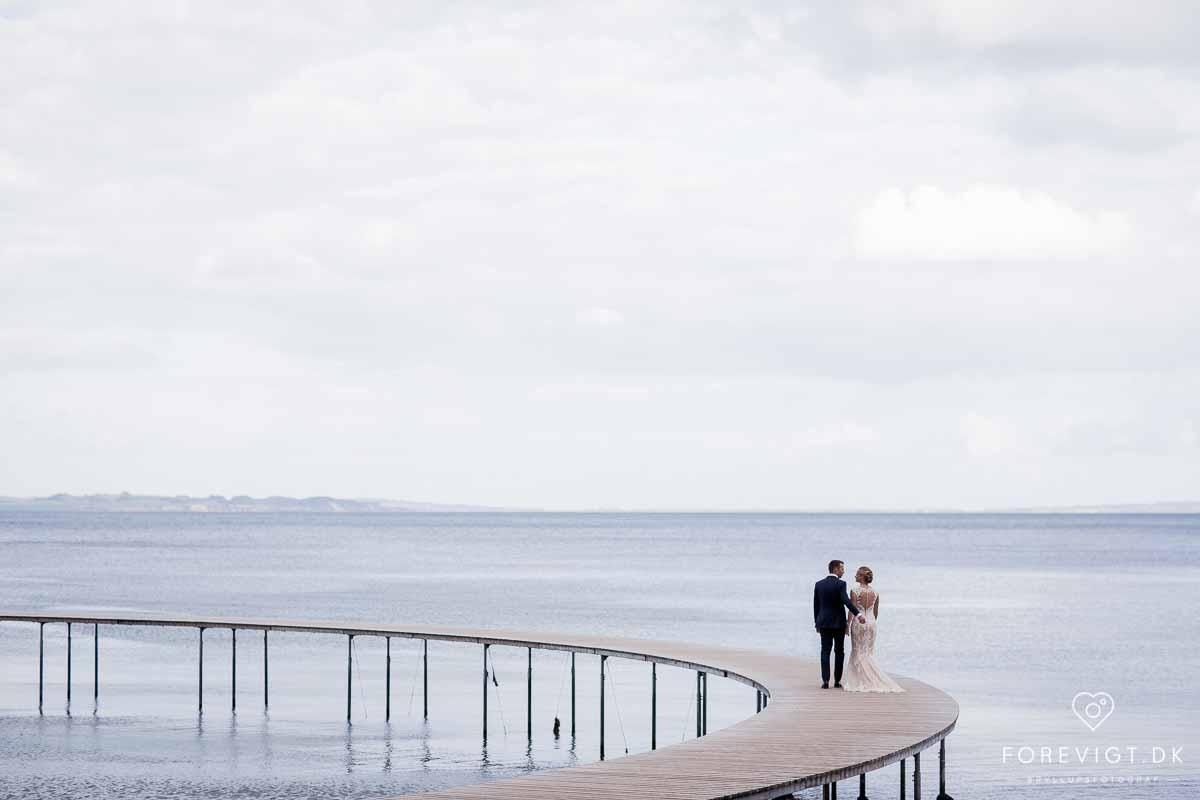 Hold brylluppet udendørs