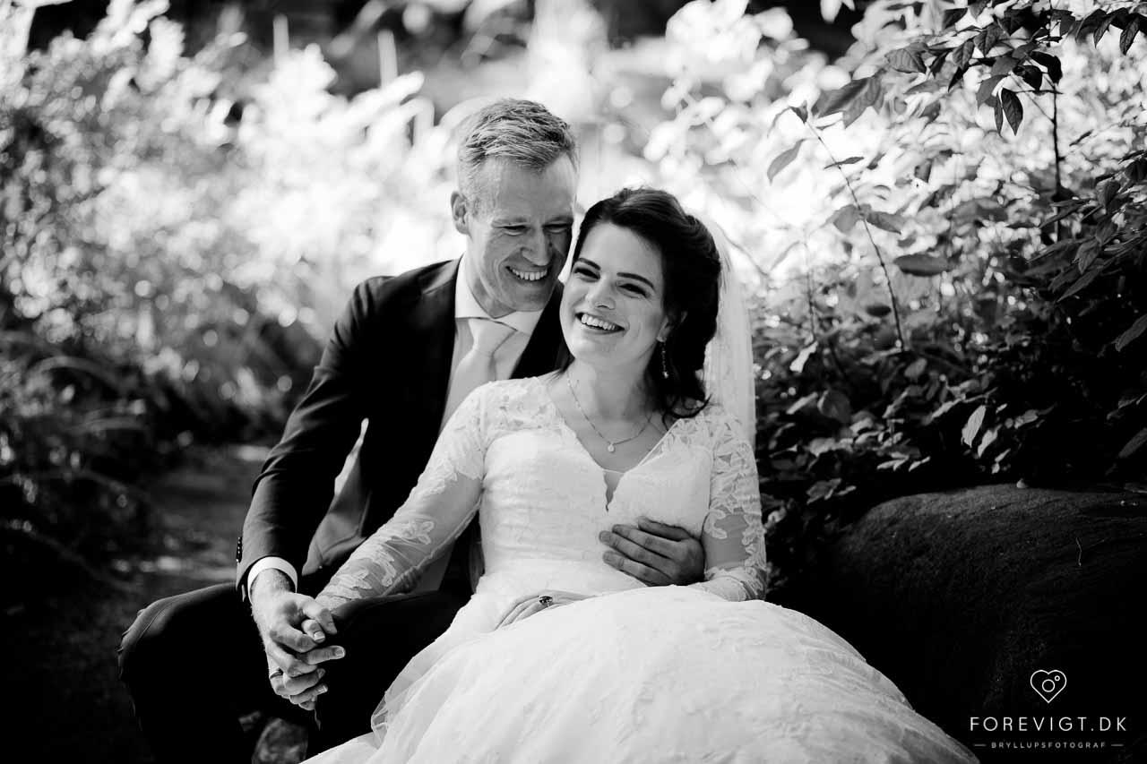 Flere billeder af Frederiksberg Have bryllup