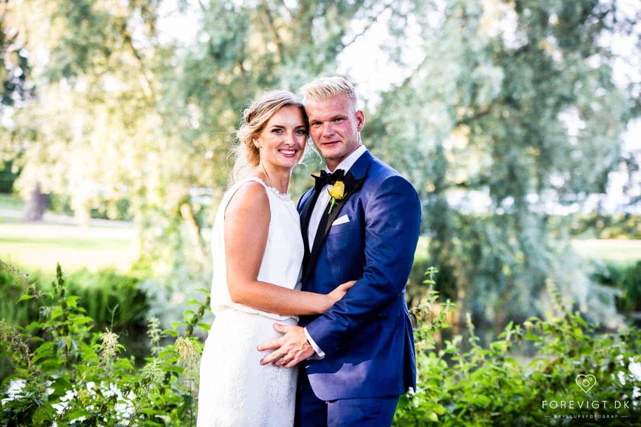 Nordsjælland bryllup – Brudeparret havde valgt at blive viet i det Nordsjællandske
