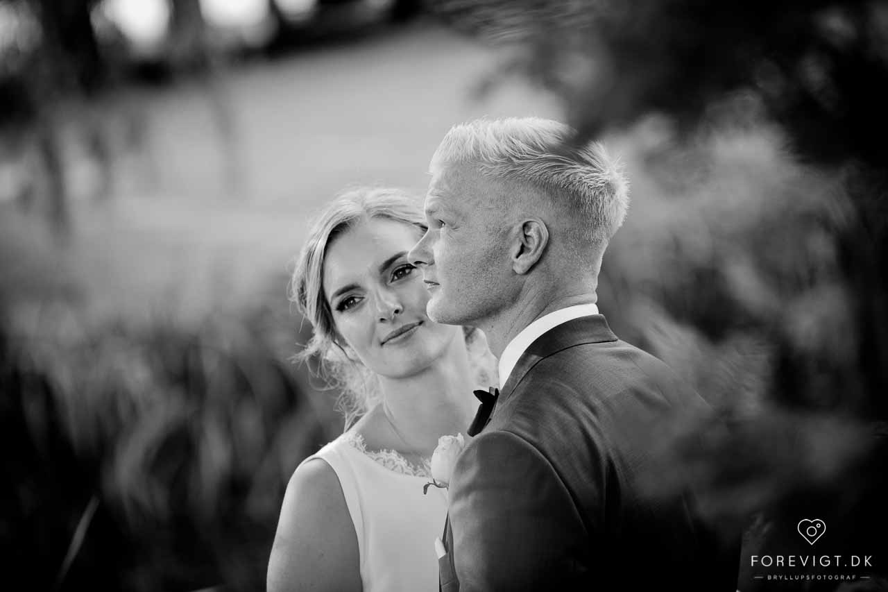 Bryllup på Rungstedgaard - Fotograf bryllup
