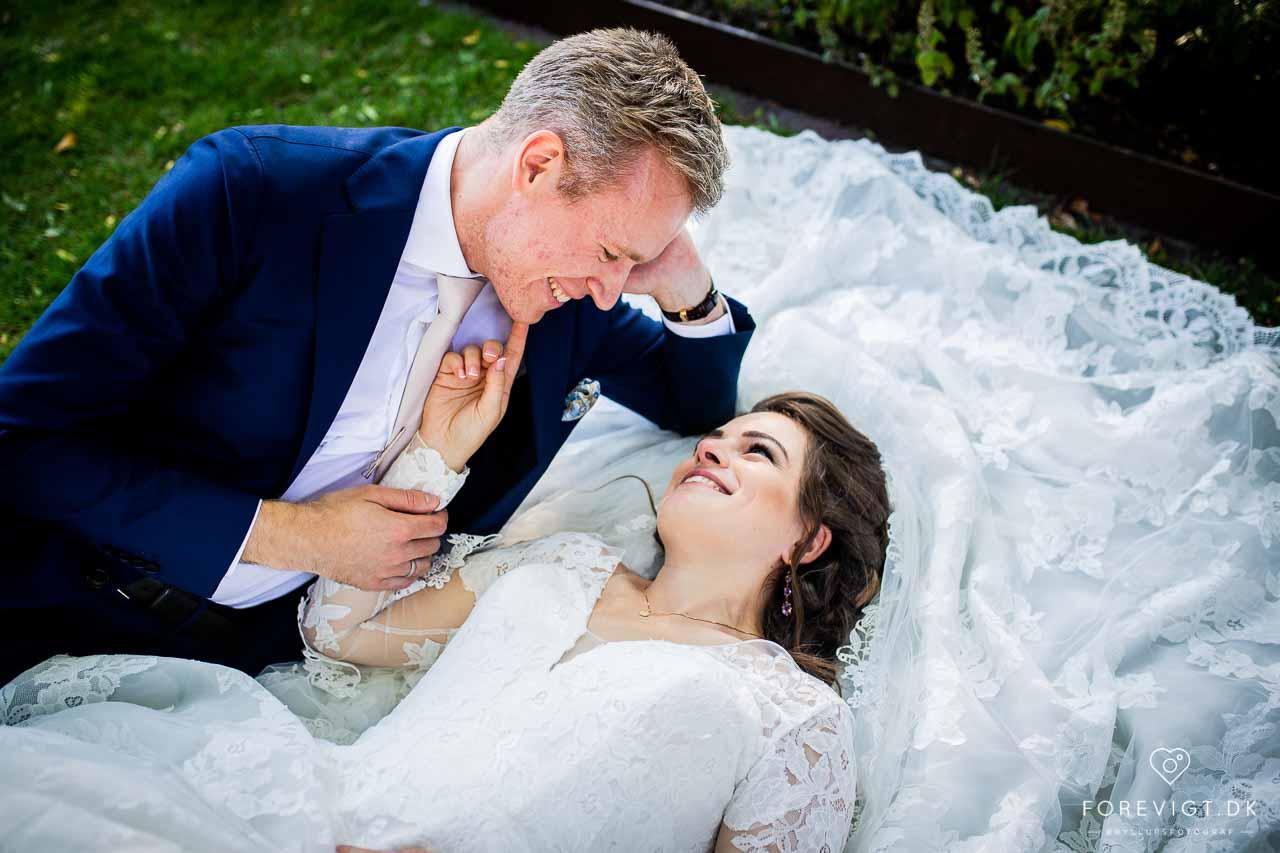 Vi var til bryllup på Mielcke og Hurtigkarl i Frederiksberg Haven
