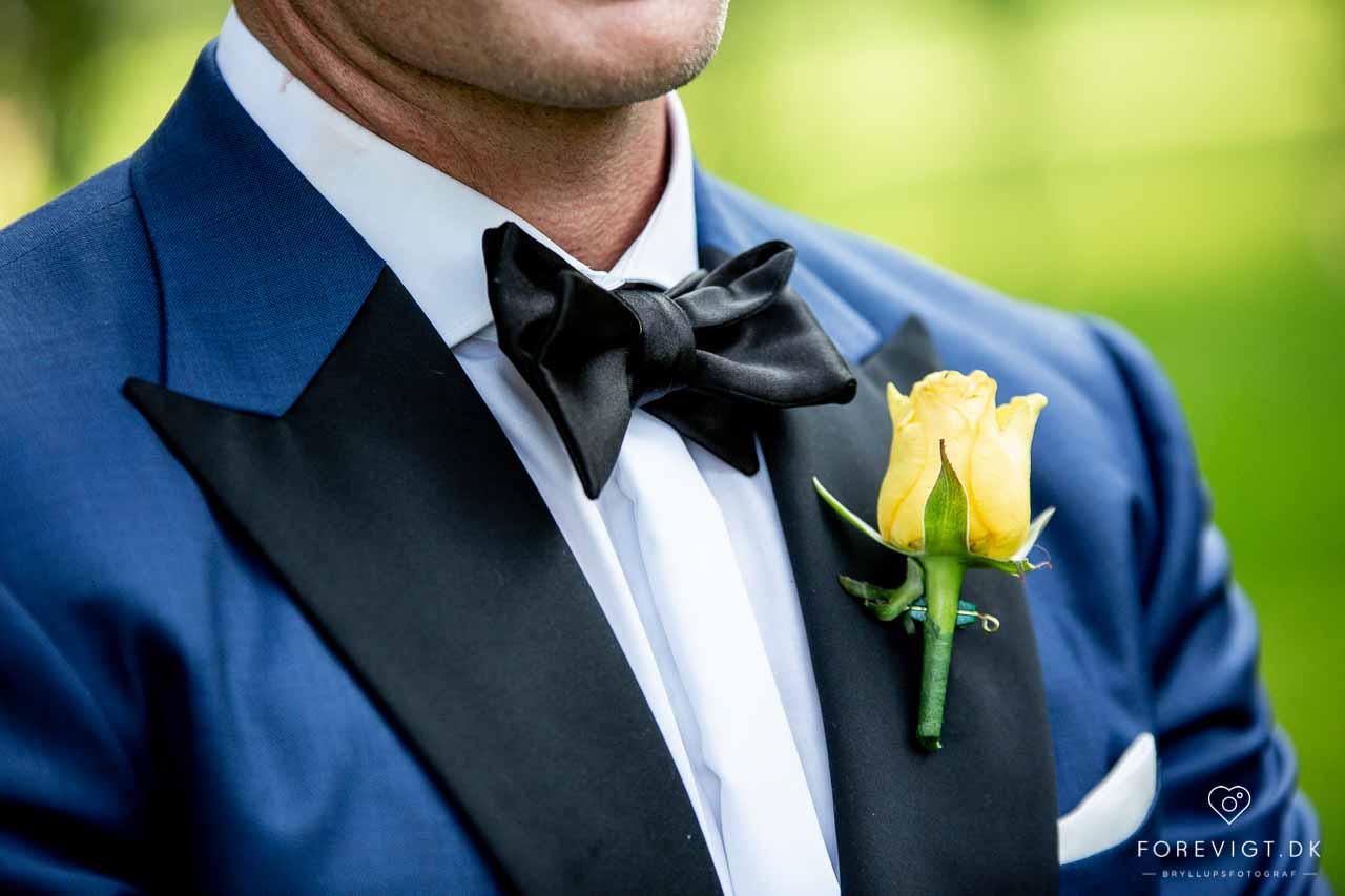 Bryllupsfotografering på Rungstedgaard