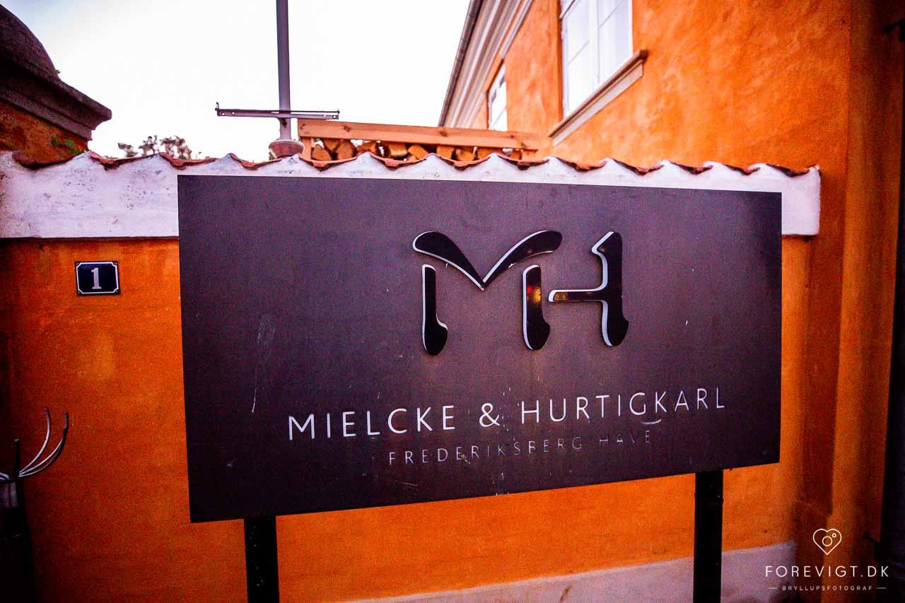Restaurant Mielcke & Hurtigkarl bryllup