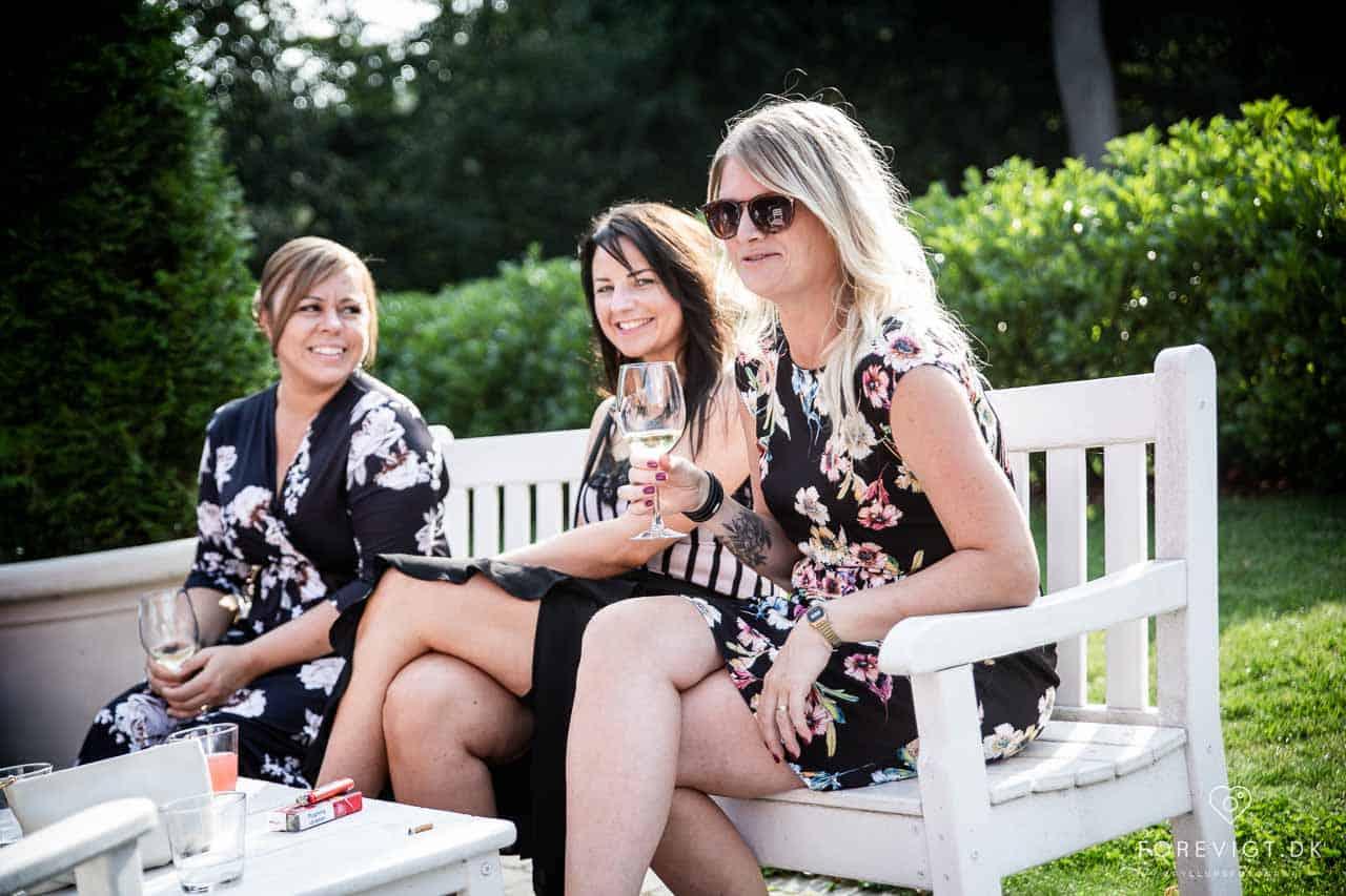 Vi kan varmt anbefale at holde bryllup på Rungstedgaard