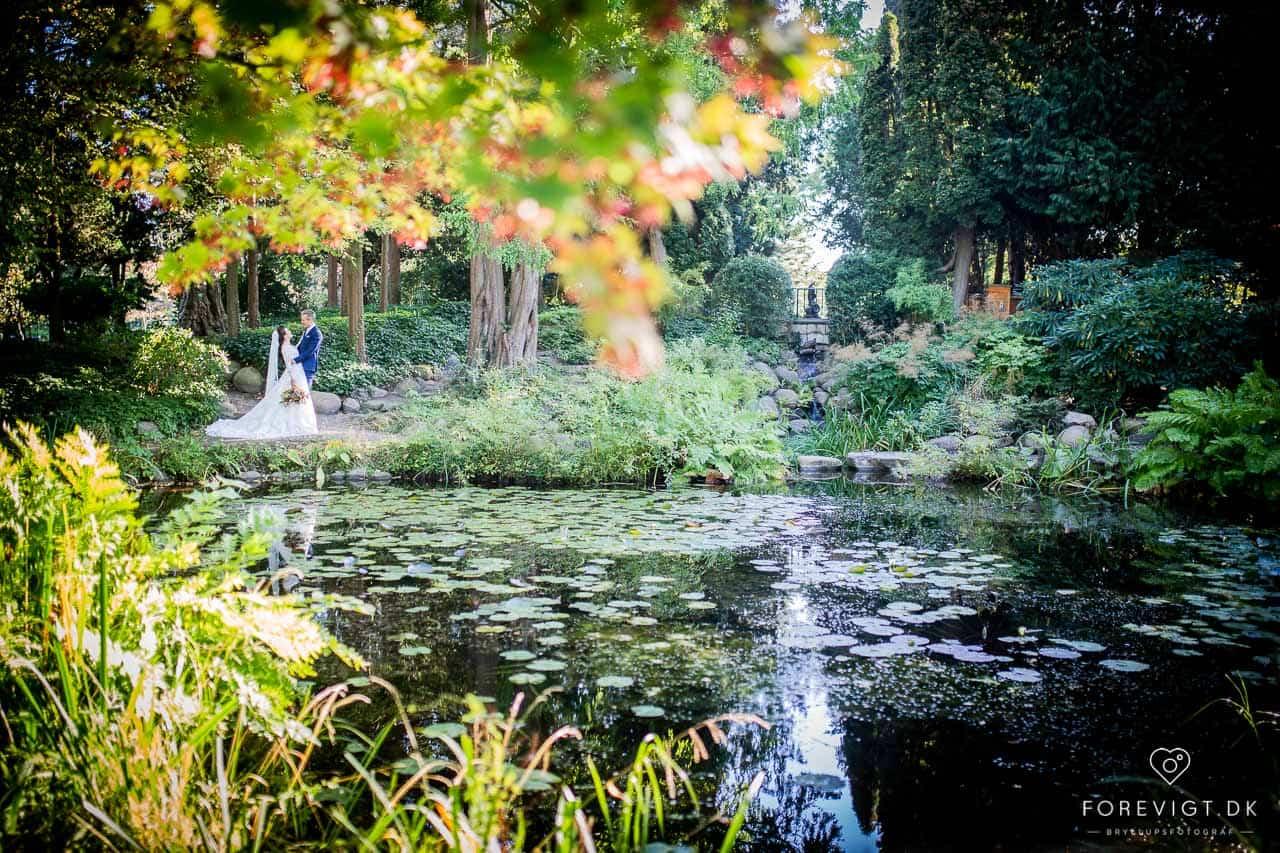 Billeder af Frederiksberg Have bryllup