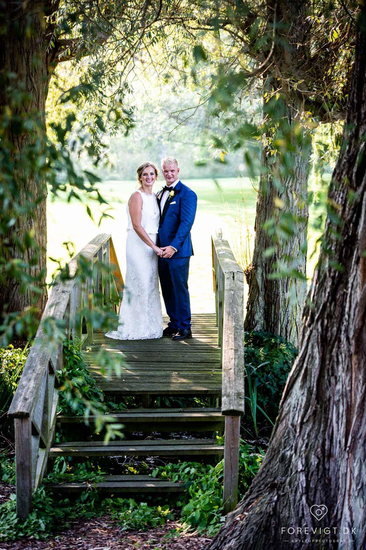 Billeder af Rungstedgaard Hotel bryllup