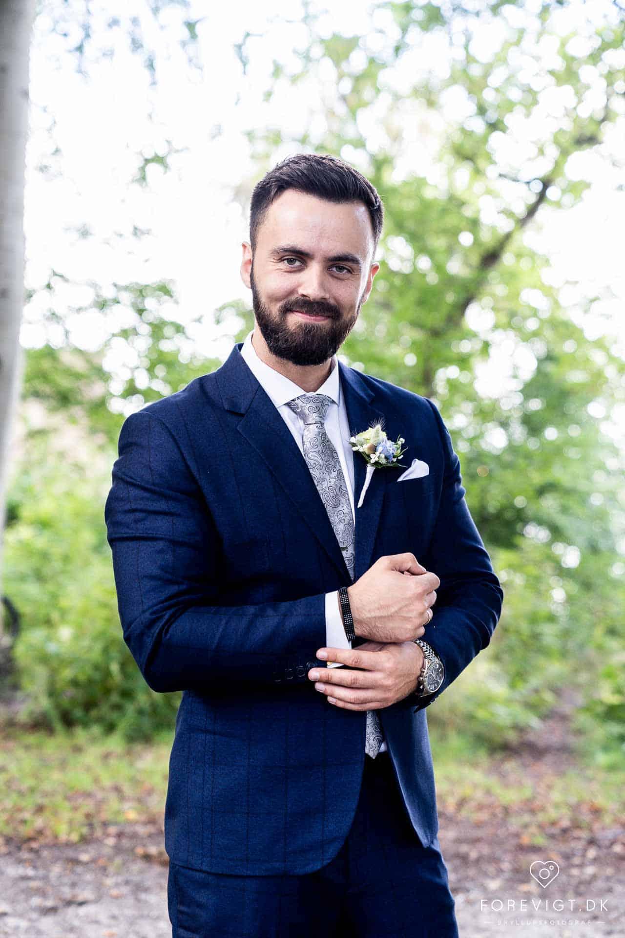 Bryllupsfotograf Århus til bryllupsbilleder med kant