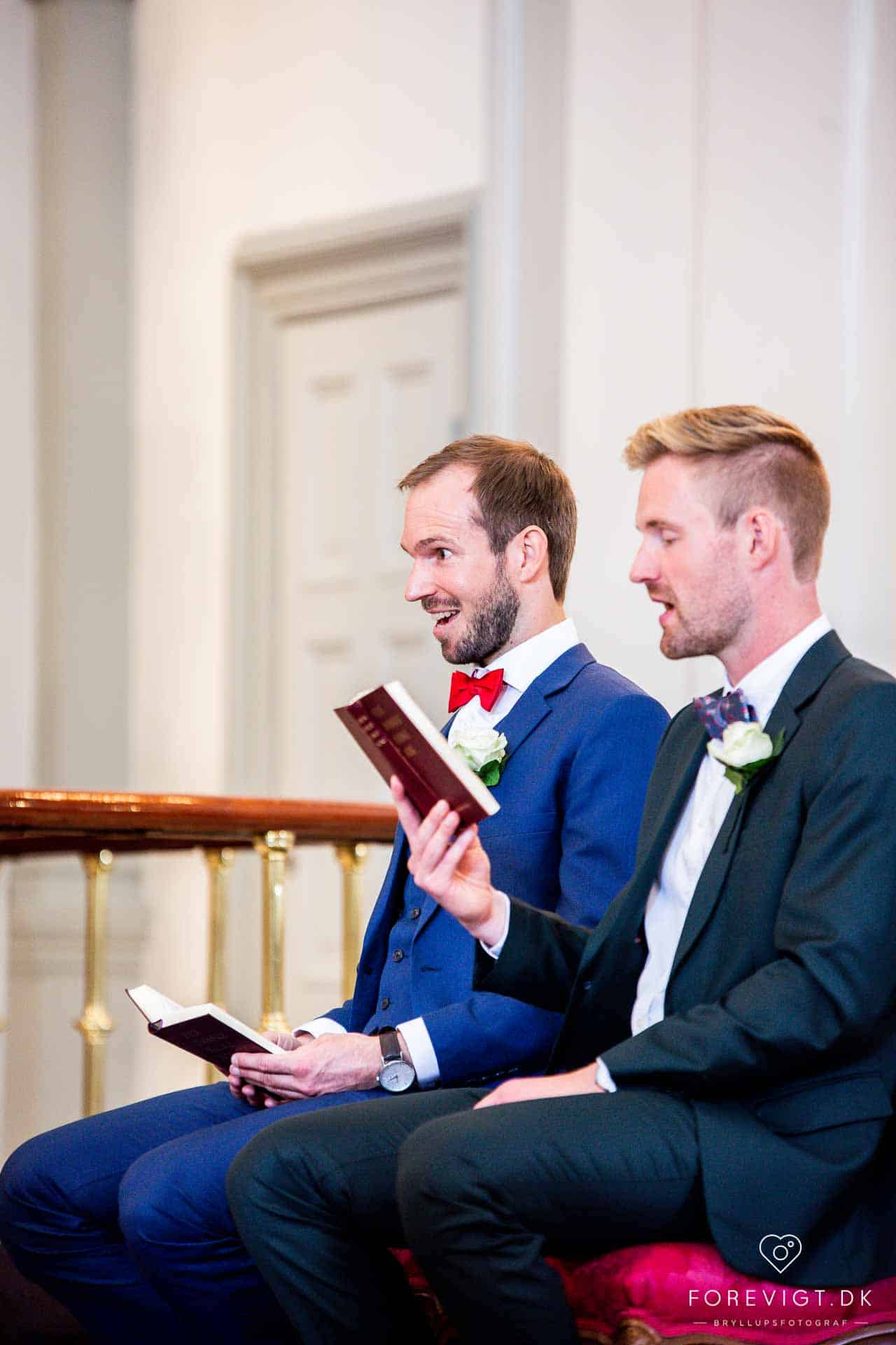 Garnisons Kirken bryllup