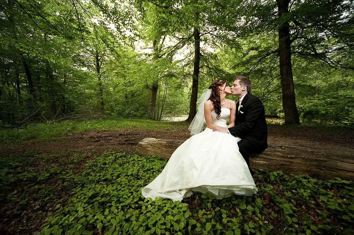 Professionel bryllupsfotograf i Vipperød
