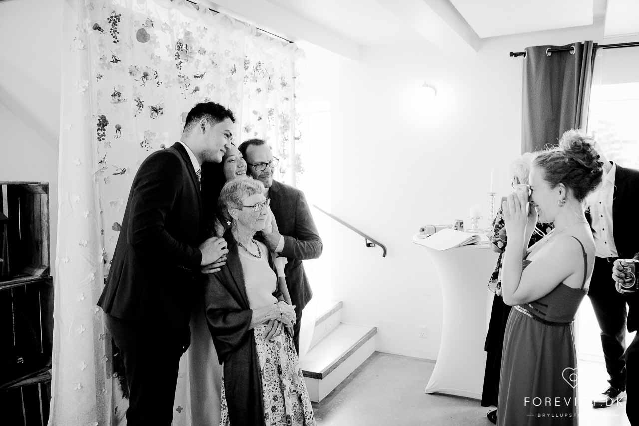 bryllupsfoto ved bryllup