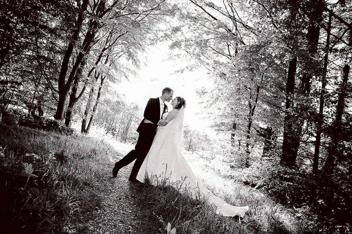 slot bryllup | Bryllupsfotograf Lemvig
