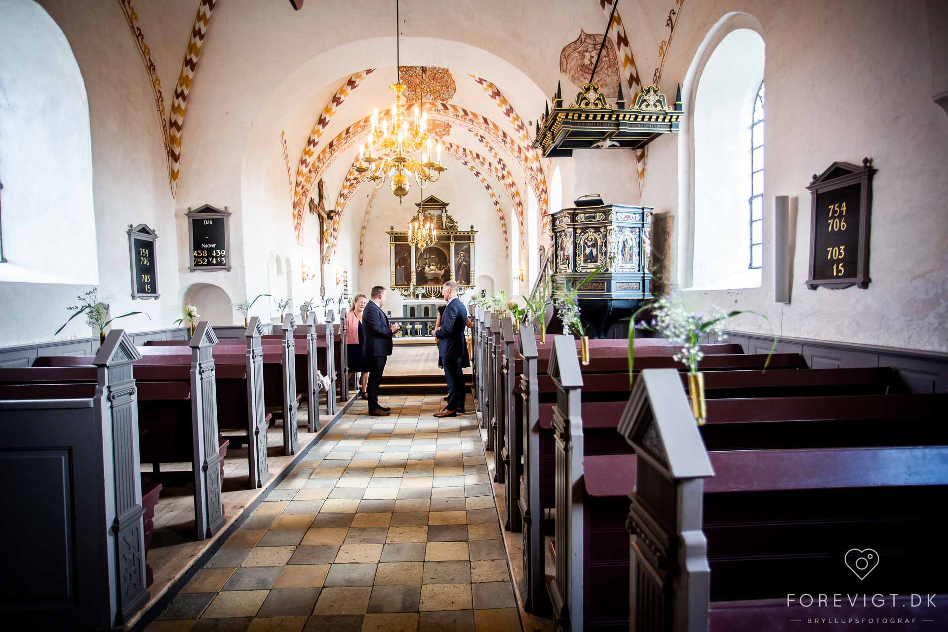bryllupper Kærum Kirke vielse