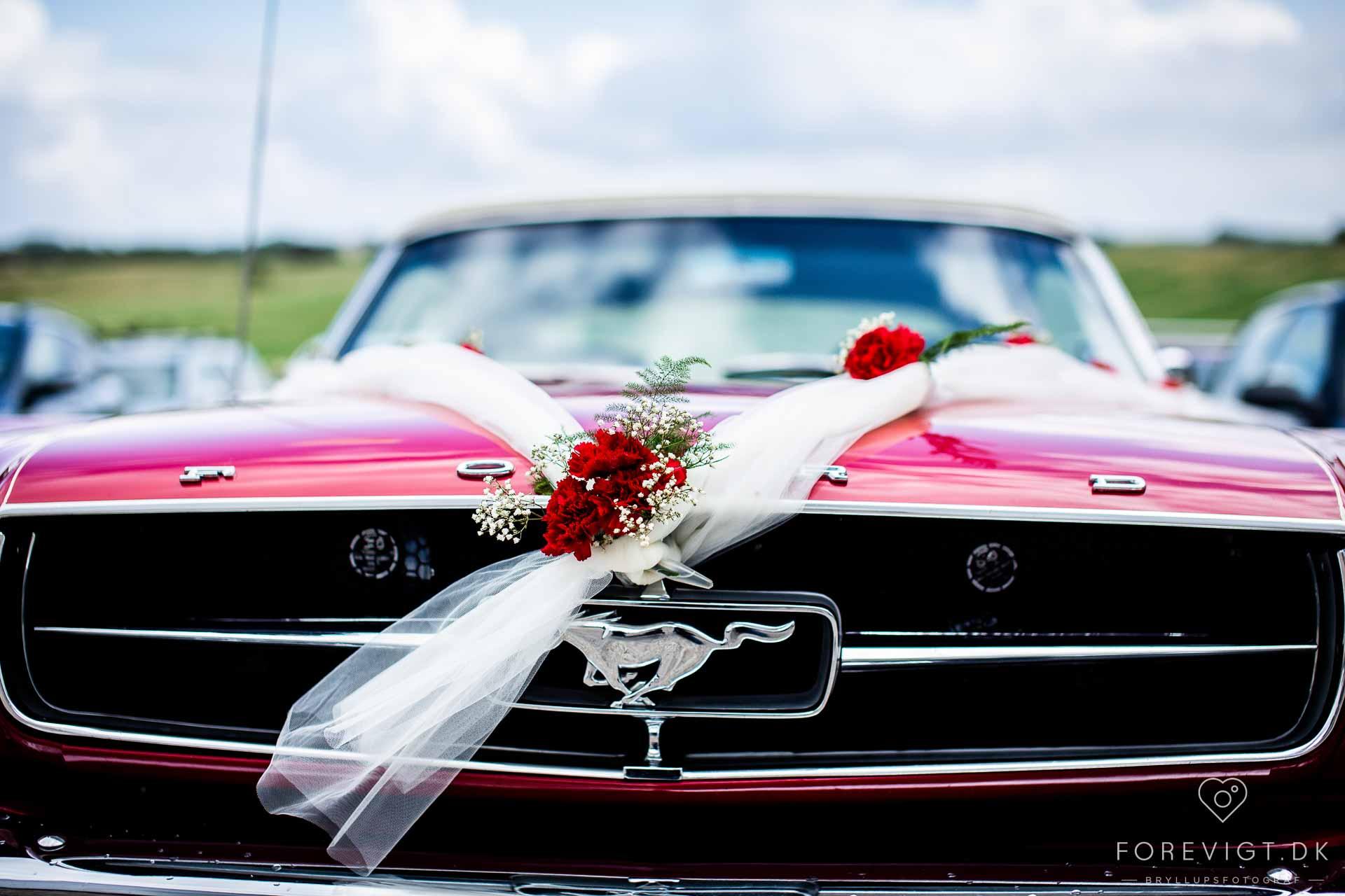 bryllupsbil Fyn