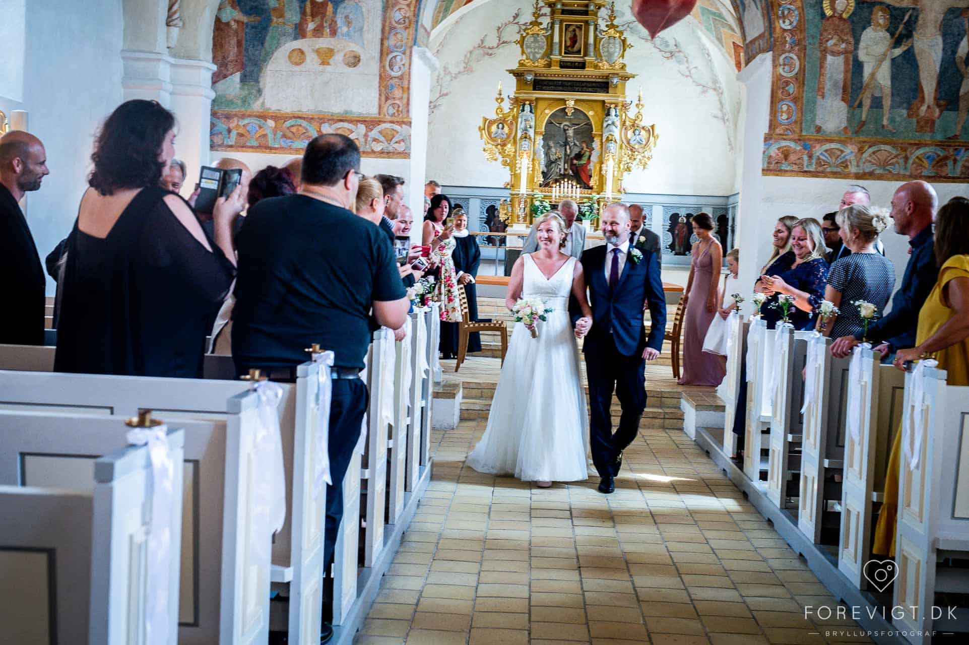 Bryllupsfotografering Jørlunde ved Slangerup