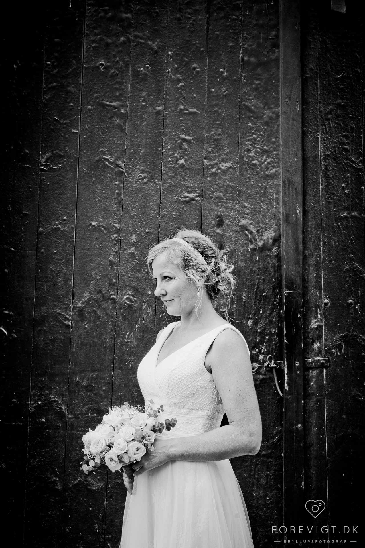 romantiske bryllupsportrætter