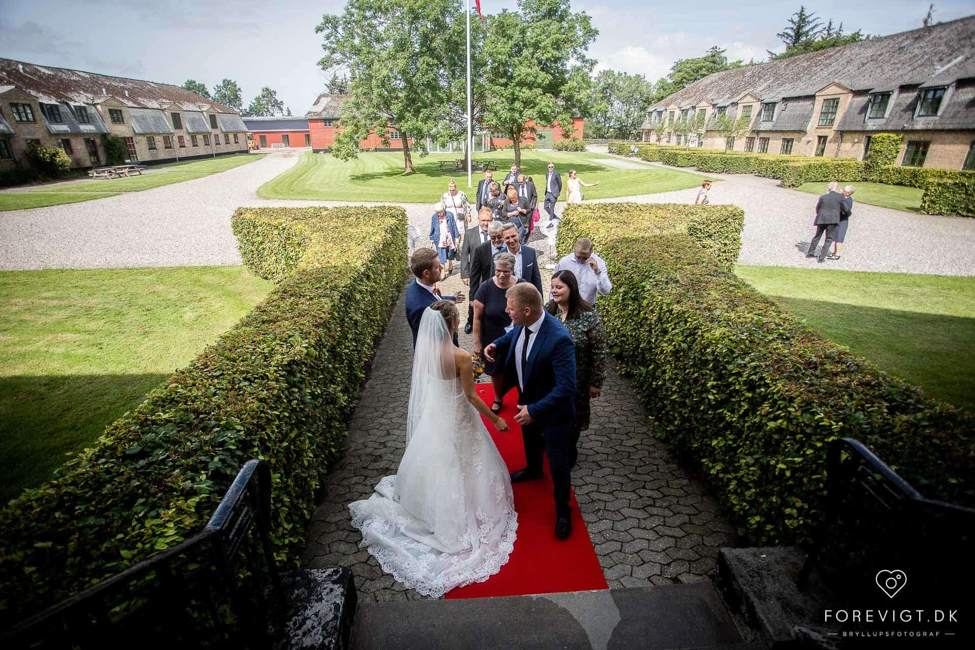 Ryå Efterskole brylluppet