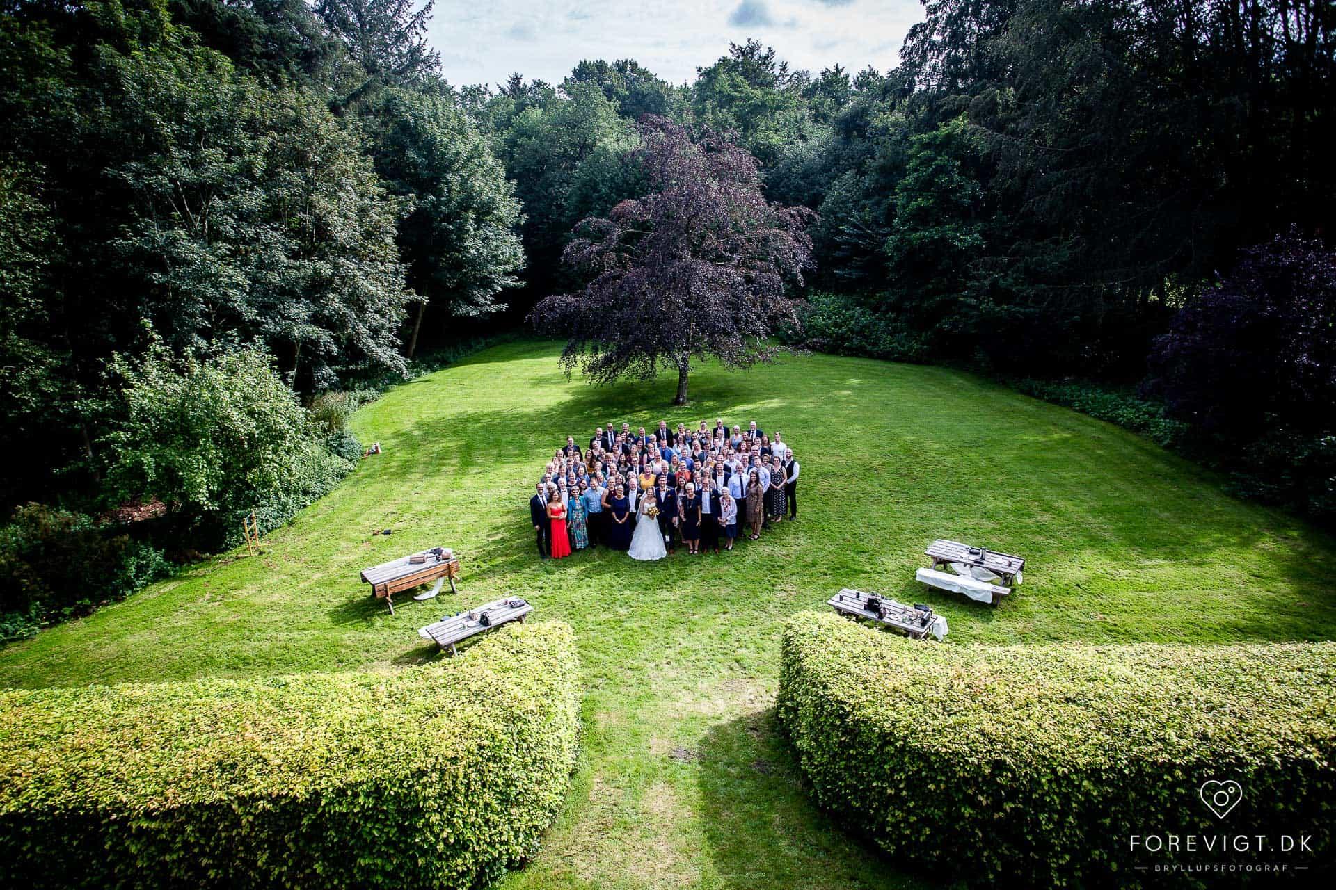 kongefoto bryllup Nordjylland