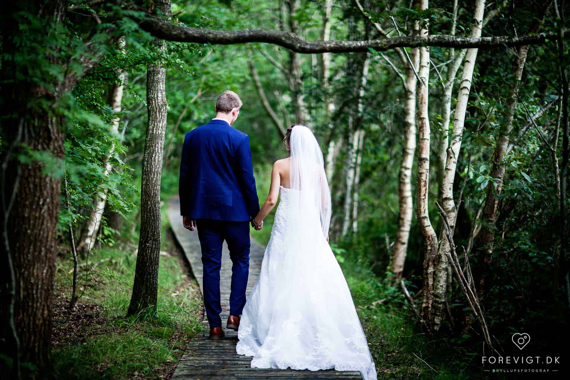 Bryllupsbilleder i Dronninglund Nordjylland
