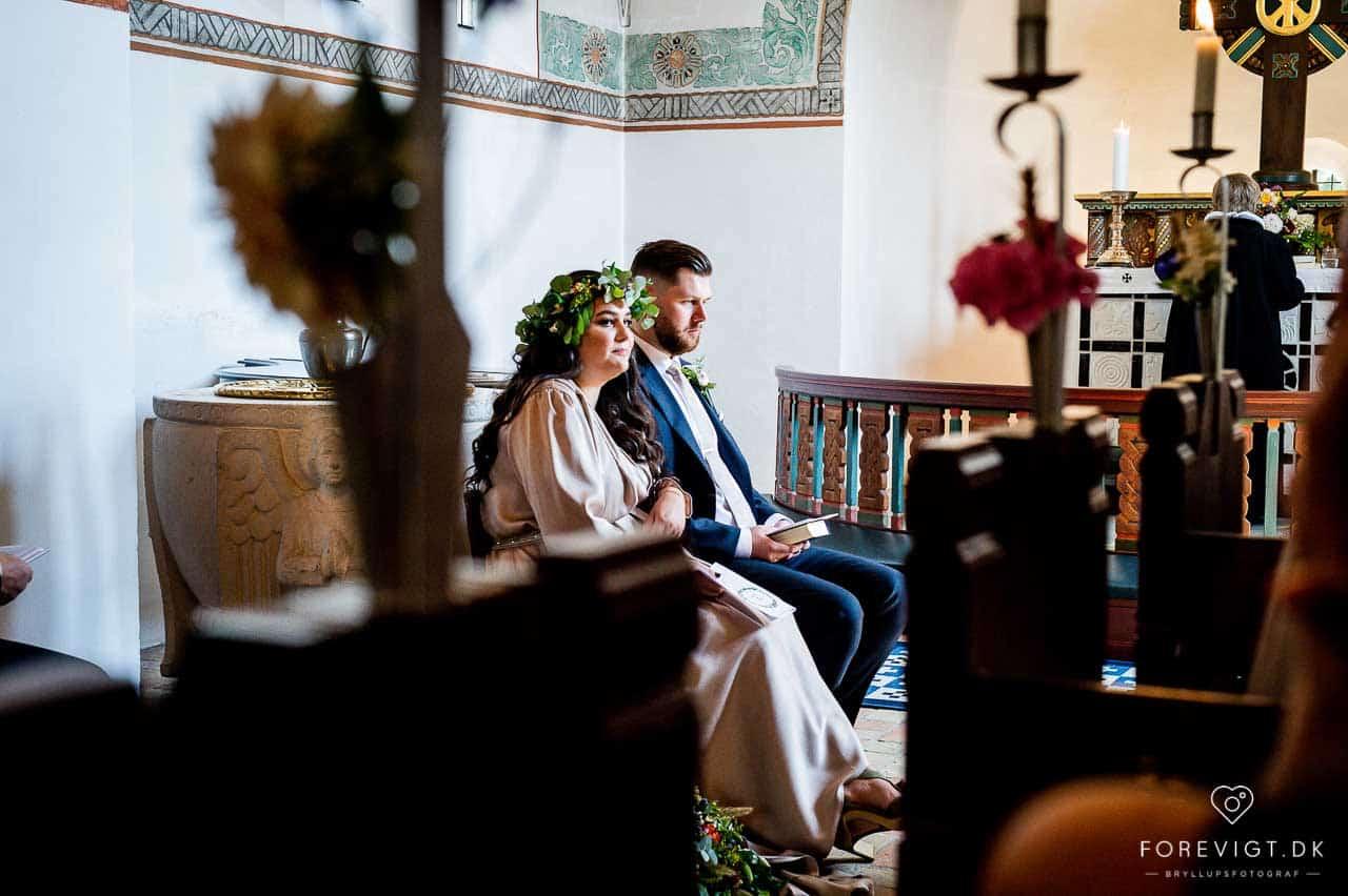 sang i Strøby kirke bryllup på Stevns