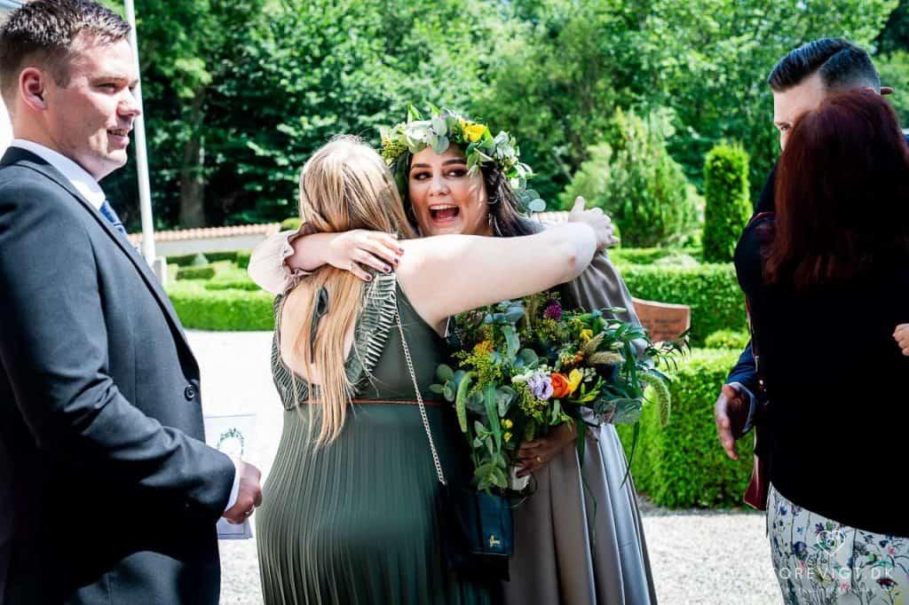 lykønskning Strøby kirke bryllup på Stevns