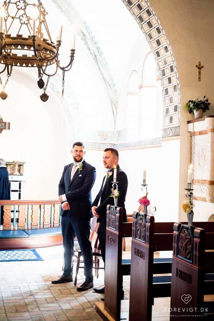 Strøby kirke bryllup på Stevns