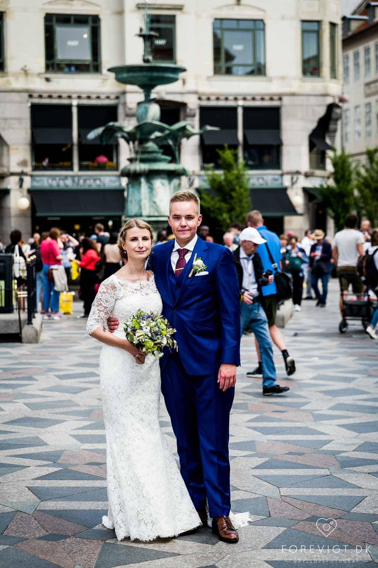 Ikonisk bryllup i København