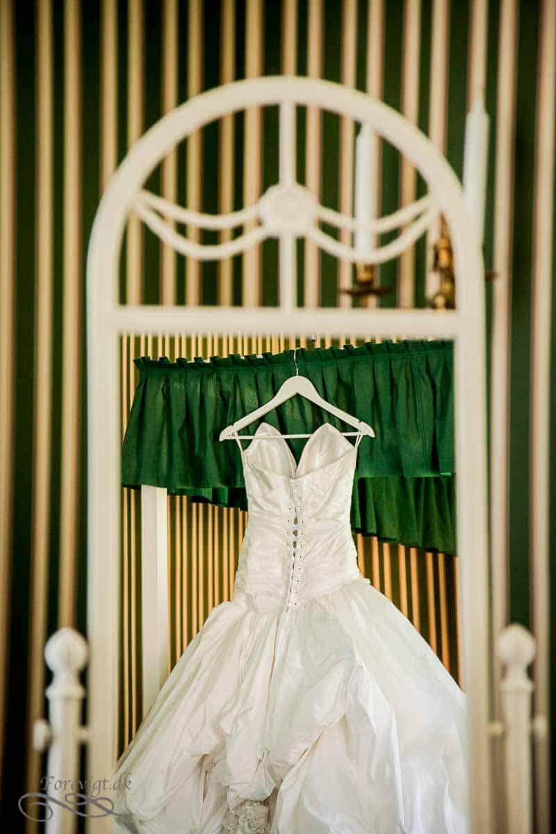 Den skide brudekjole