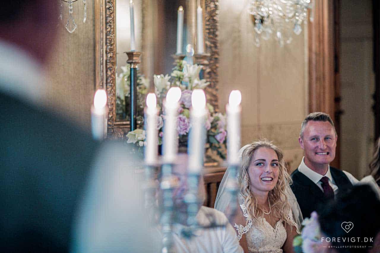 Hvordan er talerækken til et bryllup?