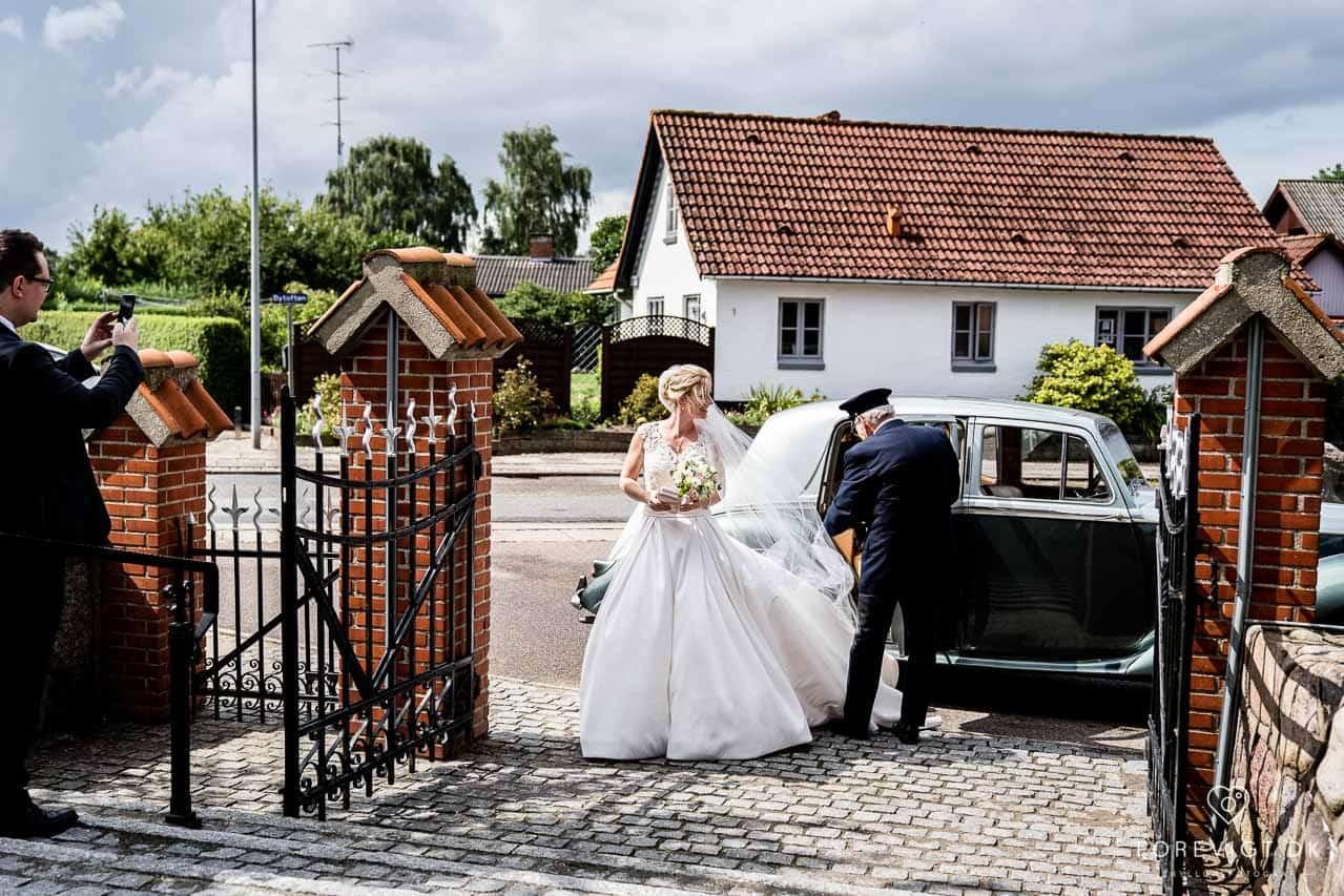 Hold bryllupsfest på Kursuscenter ved Vejle.