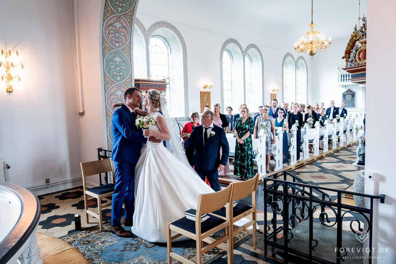 Bryllup mellem Vejle og Billund