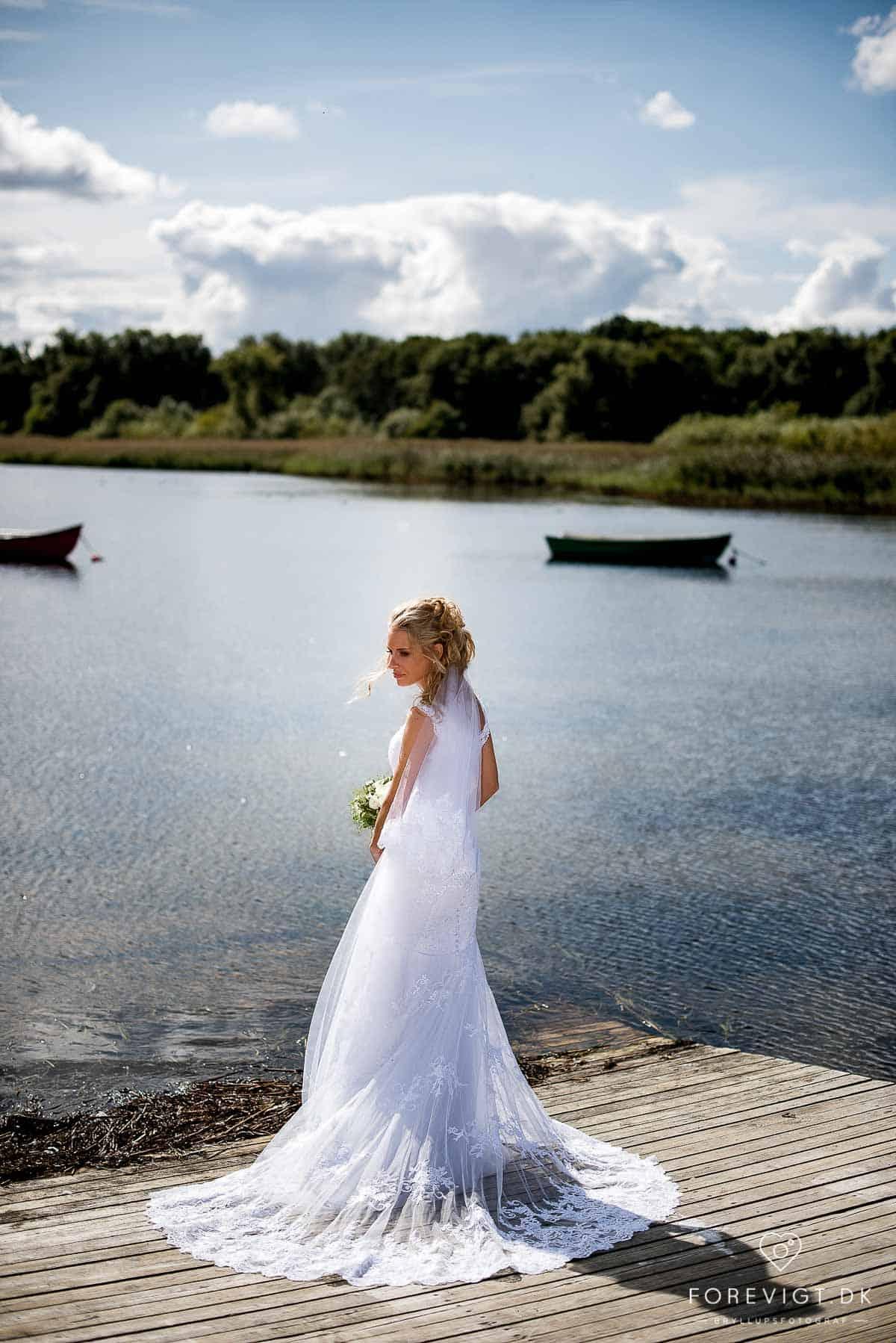 Bryllup på Sagafjord | Romantik på Roskilde Fjord