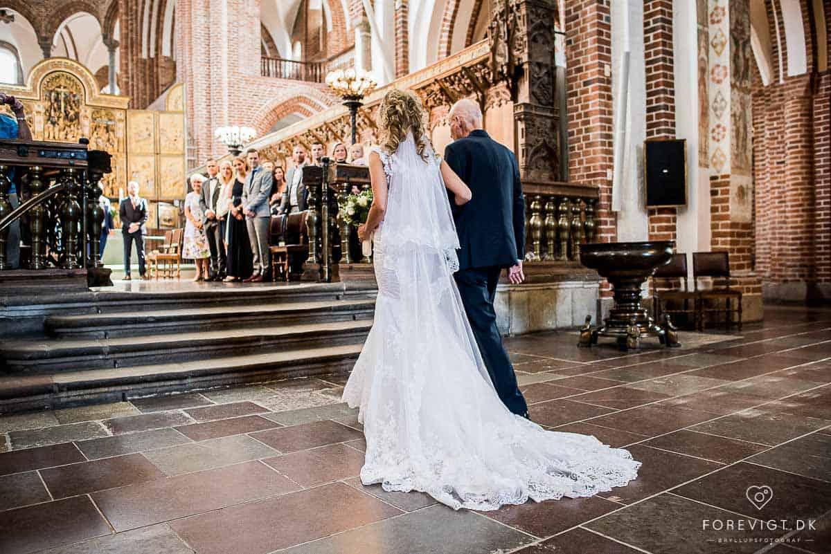 Roskilde Domkirke - fotograf til bryllup
