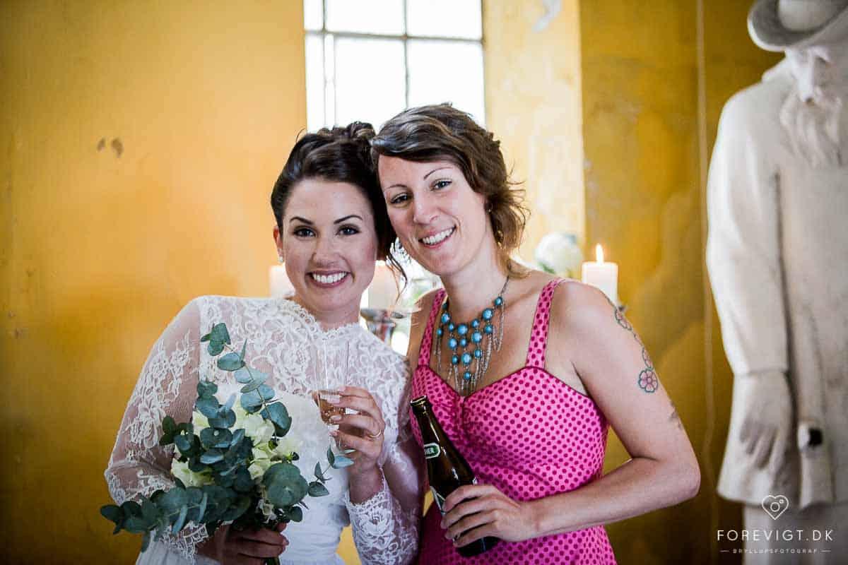 bryllupsfotografering i Frederiksberg Slotskirke, Frederiksberg Have